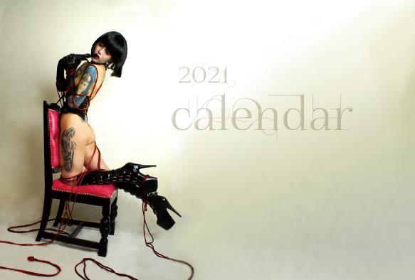 2021年度版「yugetu works緊縛カレンダー」
